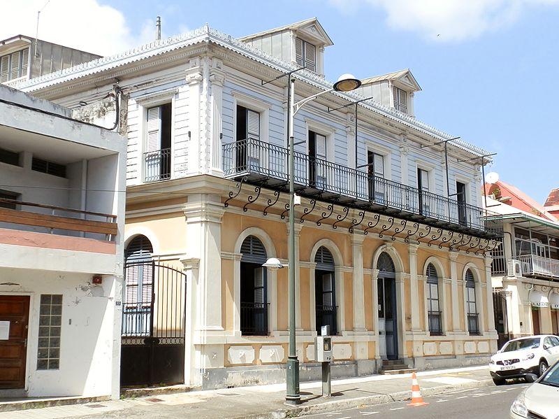 Photo du Monument Historique Hôtel de ville situé à Pointe-à-Pitre