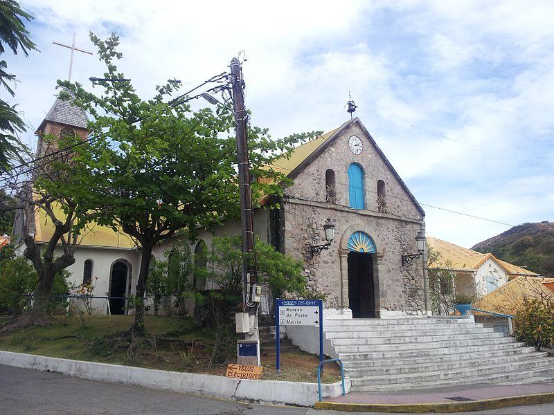 Photo du Monument Historique Eglise situé à Terre-de-Haut