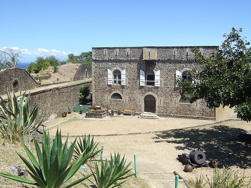Photo du Monument Historique Fort Napoléon situé à Terre-de-Haut