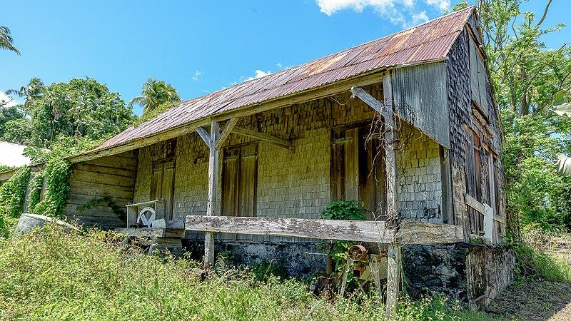 Photo du Monument Historique Habitation La Lise situé à Bouillante