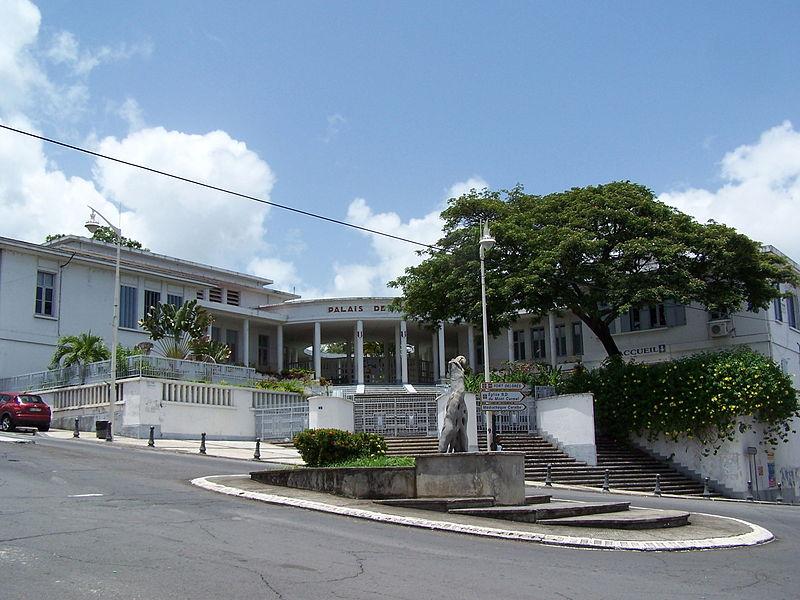 Photo du Monument Historique Palais de Justice situé à Basse-Terre