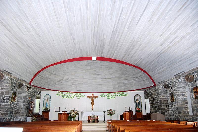 Photo du Monument Historique Eglise catholique situé à Saint-Barthélemy