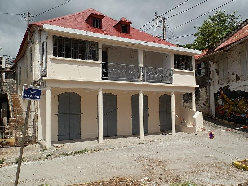 Photo du Monument Historique Maison Liensol situé à Basse-Terre