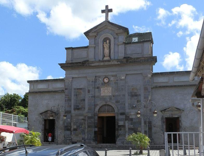 Photo du Monument Historique Eglise Notre-Dame du Mont-Carmel situé à Basse-Terre