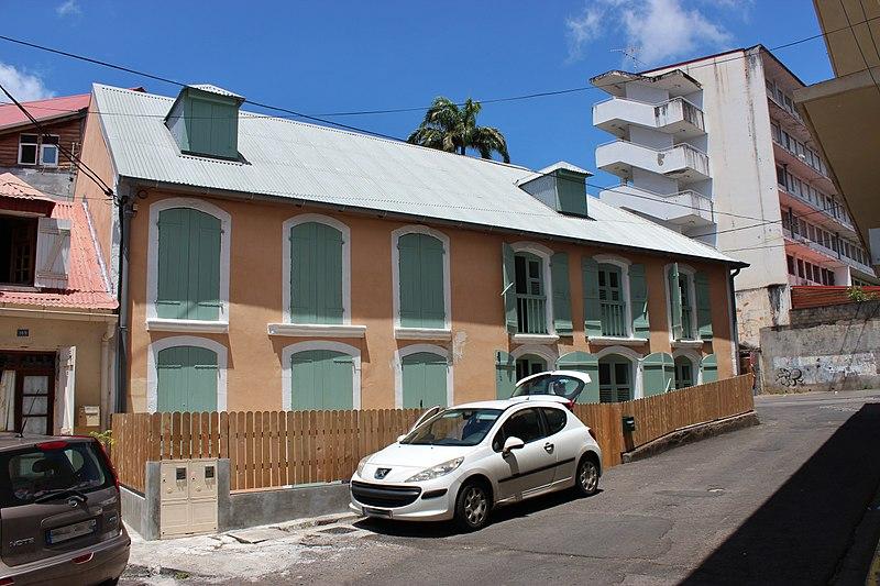 Photo du Monument Historique Maison Matis situé à Basse-Terre