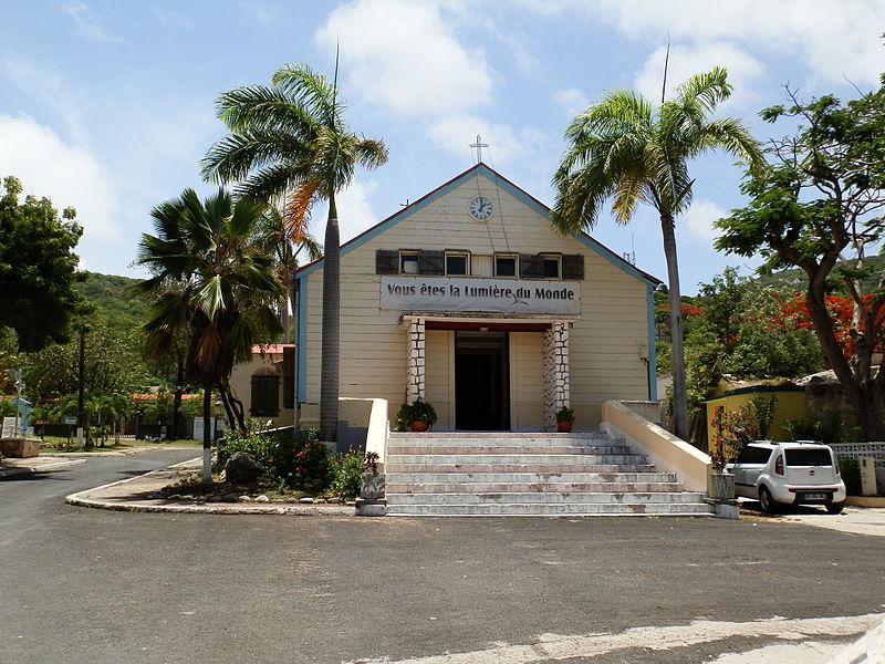 Photo du Monument Historique Eglise Notre-Dame du Bon-Secours situé à La Désirade
