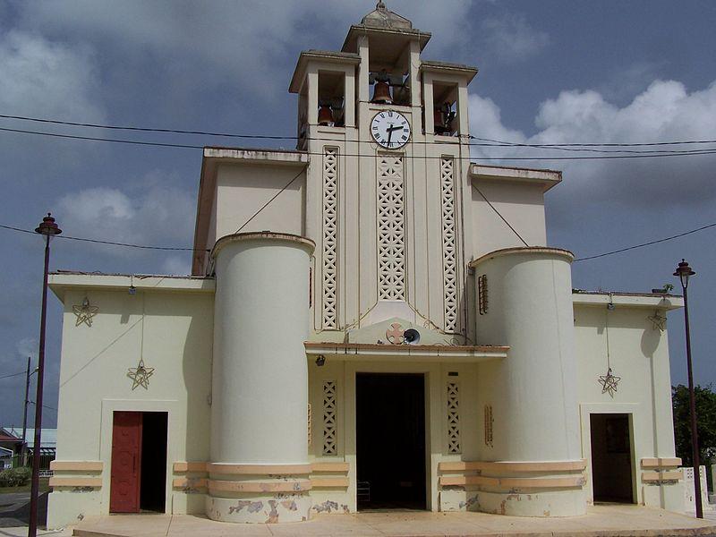 Photo du Monument Historique Église Saint-Jean-Baptiste situé à Baie-Mahault