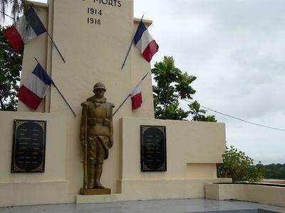 Photo du Monument Historique Monument aux morts situé à Baie-Mahault
