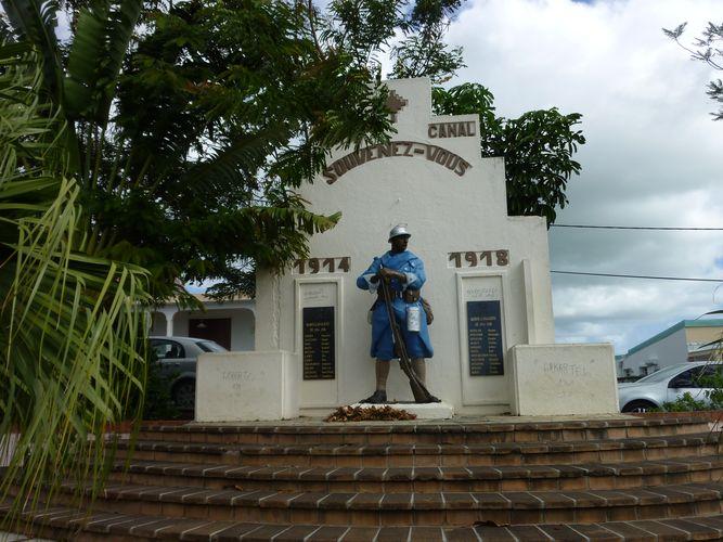 Photo du Monument Historique Monument aux morts situé à Petit-Canal