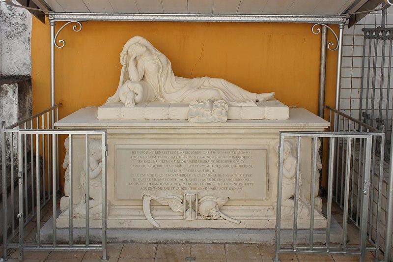 Photo du Monument Historique Tombeau de la Dame Espagnole situé à Le Carbet