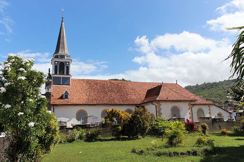 Photo du Monument Historique Eglise Notre-Dame de l'Assomption et Saint-Joseph situé à Case-Pilote