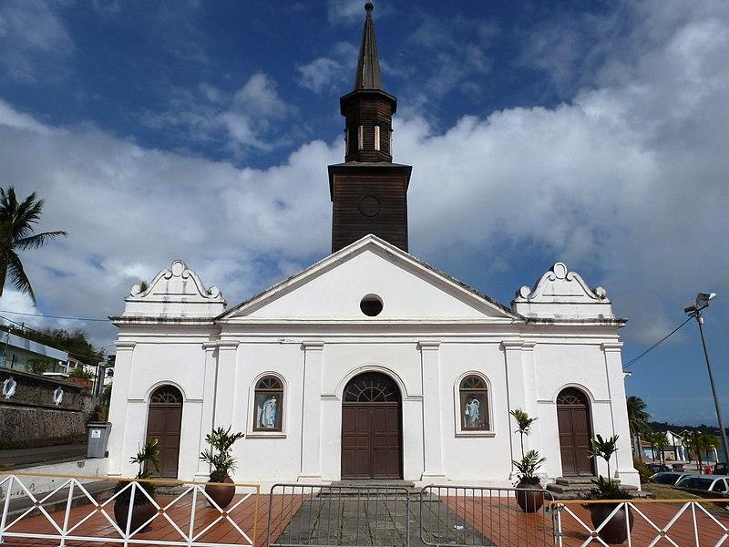 Photo du Monument Historique Eglise situé à Le Diamant