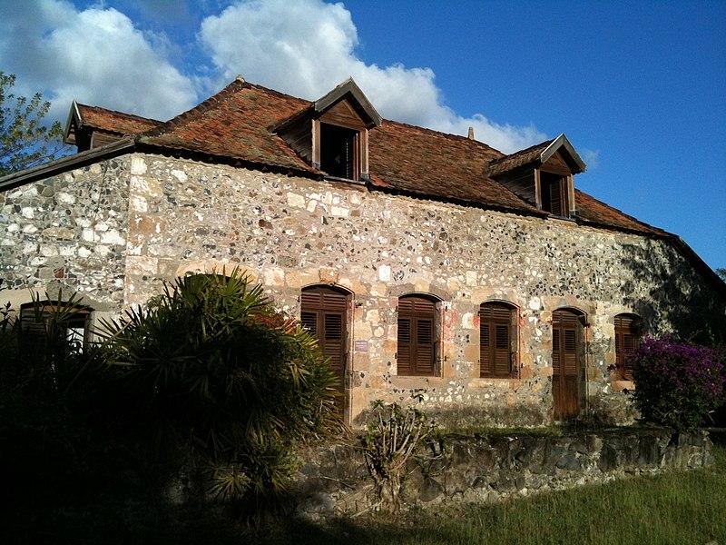 Photo du Monument Historique Maison du Gaoulé et moulin situé à Le Diamant