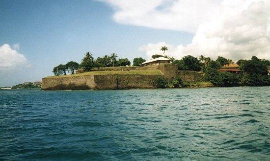 Photo du Monument Historique Fort Saint-Louis situé à Fort-de-France