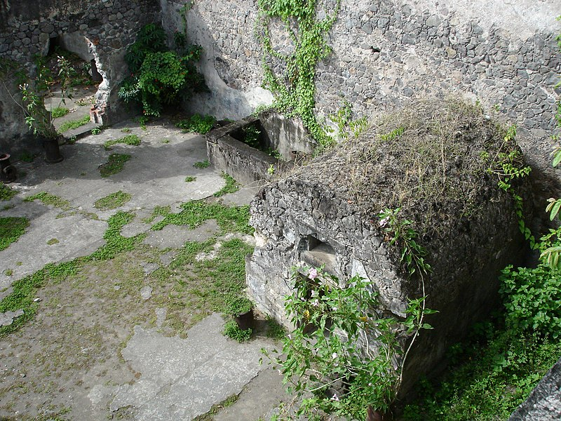 Photo du Monument Historique Cachot de Siparis situé à Saint-Pierre