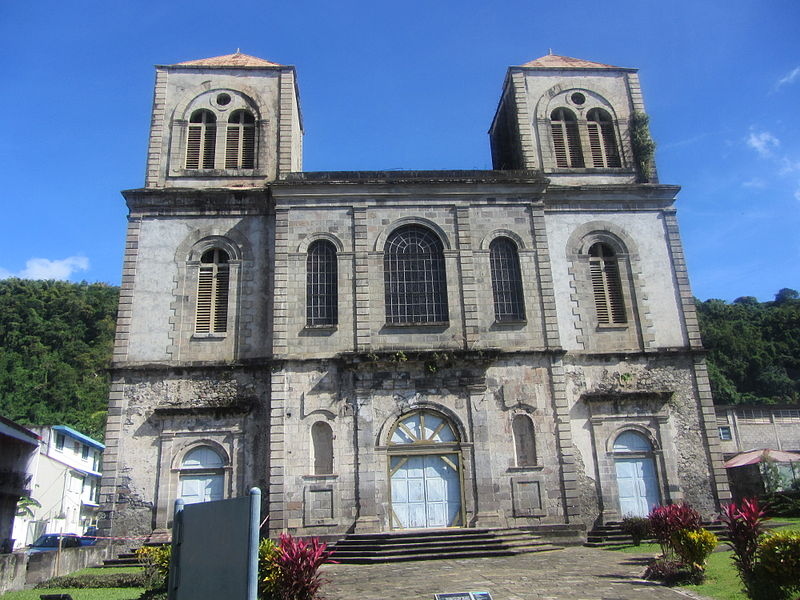 Photo du Monument Historique Ancienne cathédrale Notre-Dame-de-l'Assomption, actuellement église du Mouillage situé à Saint-Pierre
