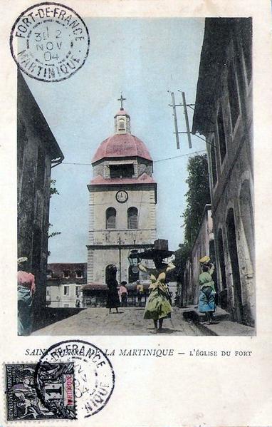 Photo du Monument Historique Eglise du Fort situé à Saint-Pierre