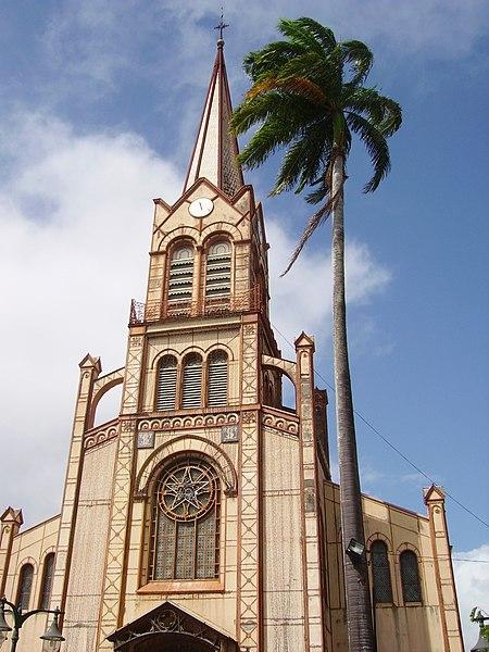 Photo du Monument Historique Cathédrale Saint-Louis situé à Fort-de-France