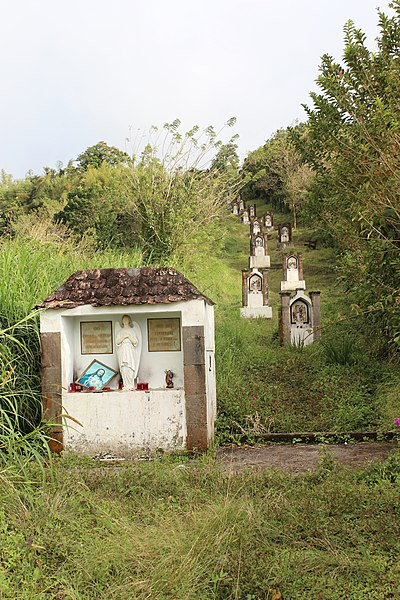 Photo du Monument Historique Calvaire situé à Le Morne-Rouge