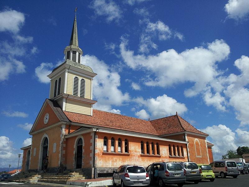 Photo du Monument Historique Eglise Notre-Dame-de-la-Délivrance situé à Les Trois-Ilets