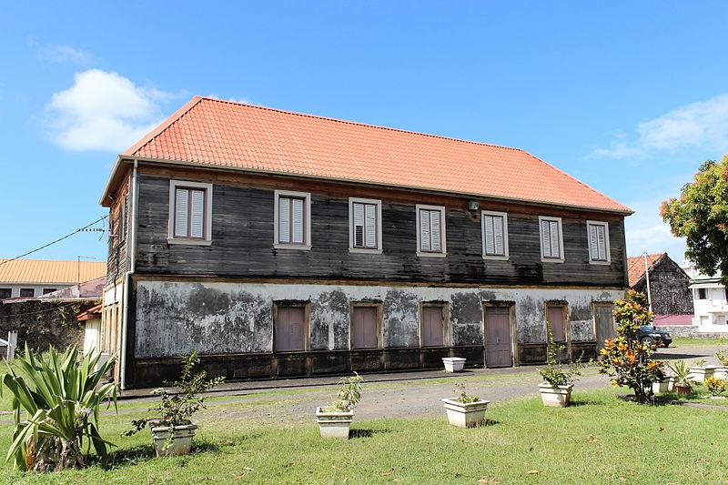 Photo du Monument Historique Presbytère situé à Case-Pilote