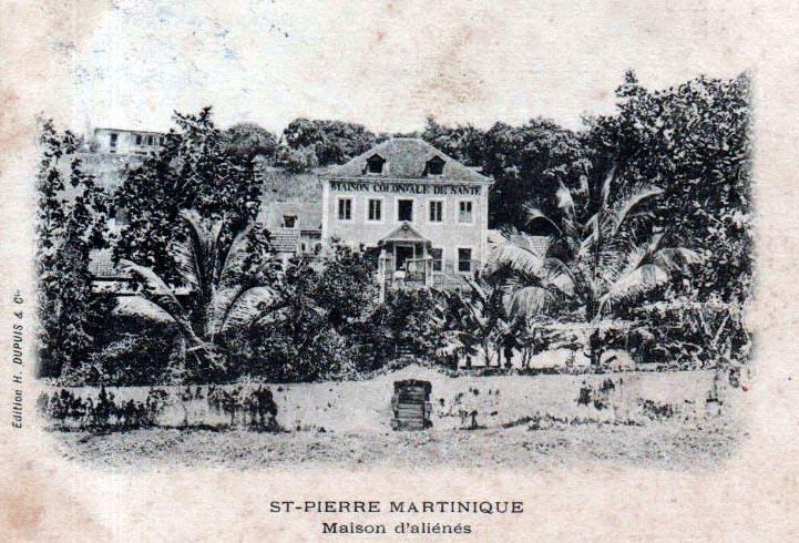 Photo du Monument Historique Maison coloniale de santé situé à Saint-Pierre