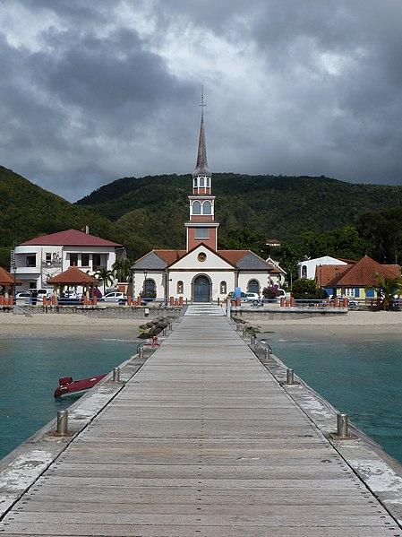 Photo du Monument Historique Eglise Saint-Henri situé à Les Anses-d'Arlet