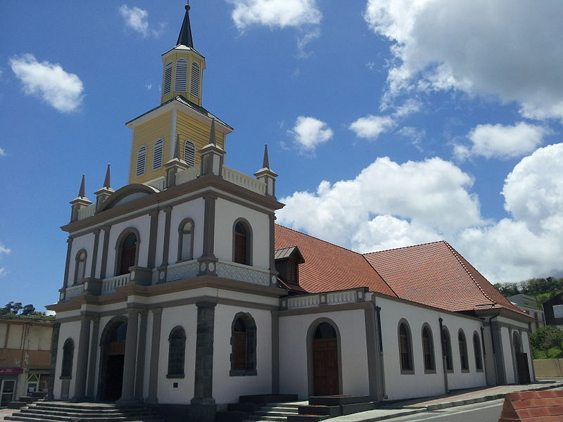 Photo du Monument Historique Eglise Sainte-Hyacinthe situé à Le Lorrain
