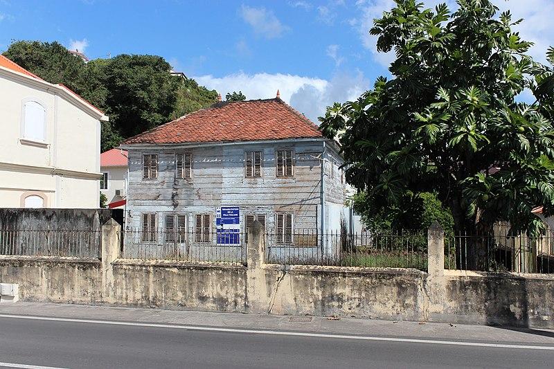 Photo du Monument Historique Maison Taïlamé situé à Le Carbet