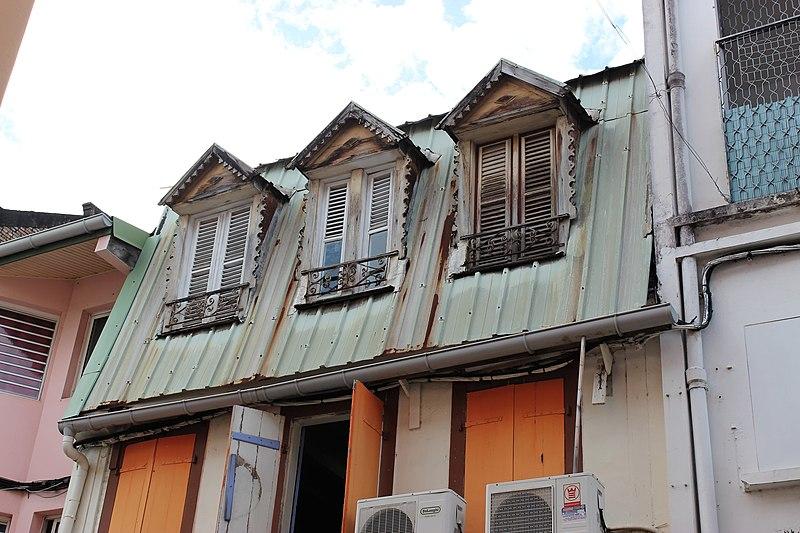 Photo du Monument Historique Immeuble, boulangerie SURENA situé à Fort-de-France