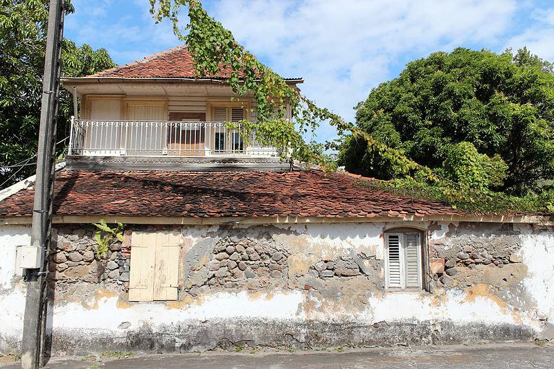 Photo du Monument Historique Habitation l'Enclos situé à Case-Pilote