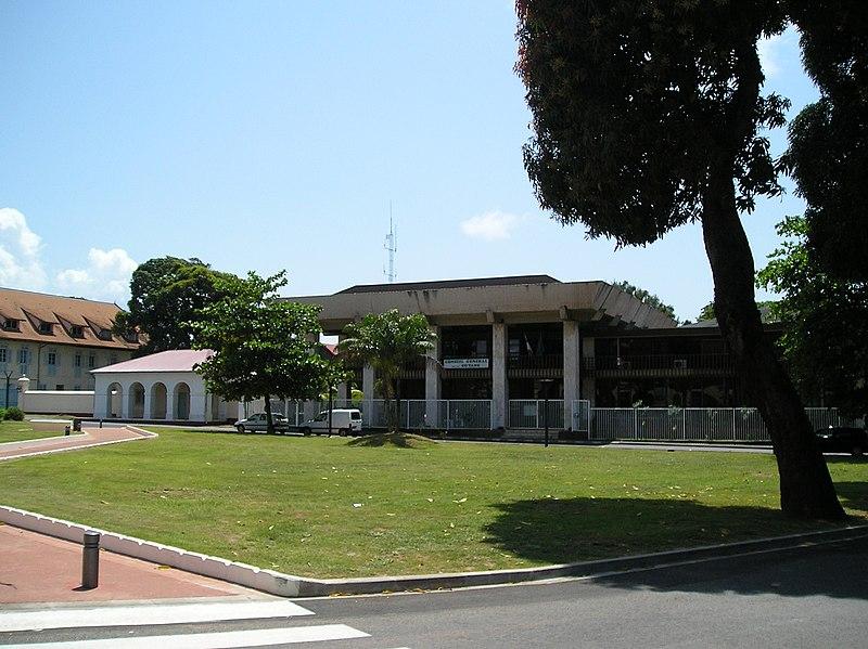 Photo du Monument Historique Conseil général situé à Cayenne