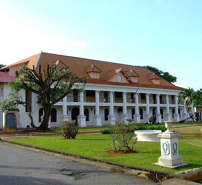 Photo du Monument Historique Couvent des Jésuites , ou ancienne Préfecture, ou Hôtel des Palmistes situé à Cayenne