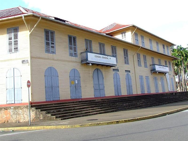 Photo du Monument Historique Immeuble Franconie situé à Cayenne