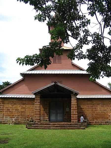 Photo du Monument Historique Chapelle de l'île Royale situé à Cayenne