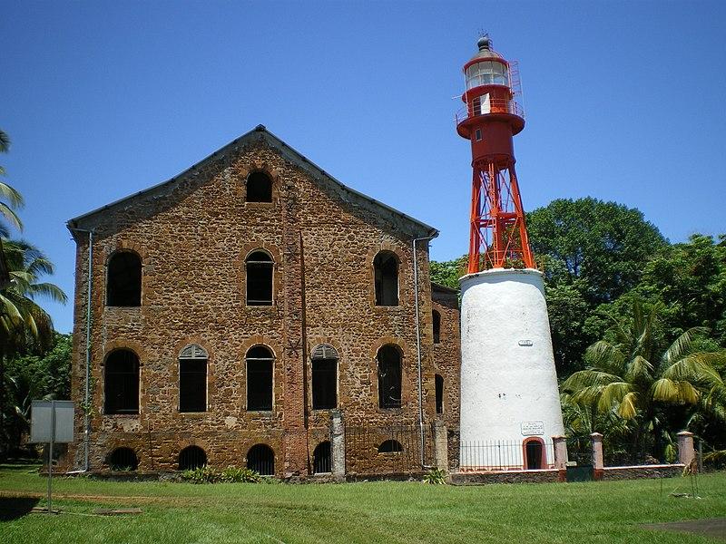 Photo du Monument Historique Ancien Hôpital de l'île Royale situé à Cayenne