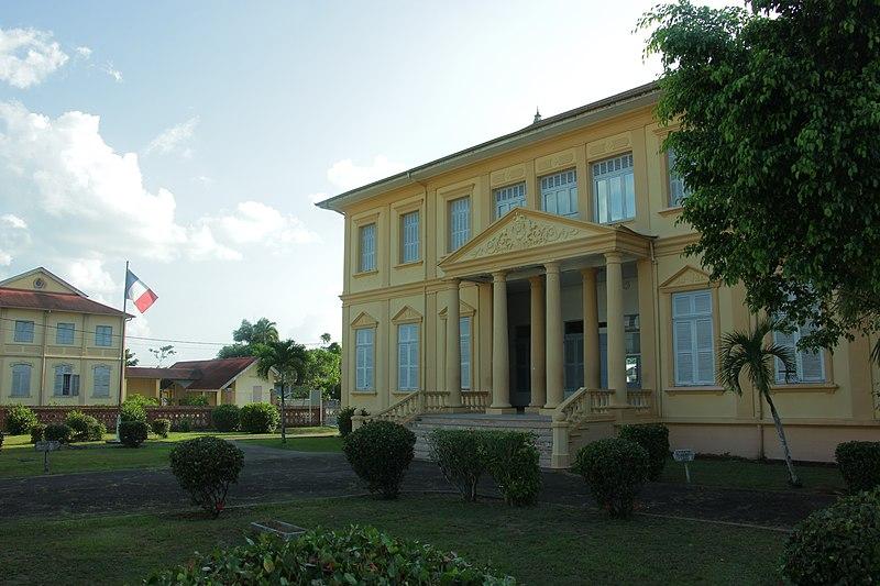 Photo du Monument Historique Sous-préfecture situé à Saint-Laurent-du-Maroni