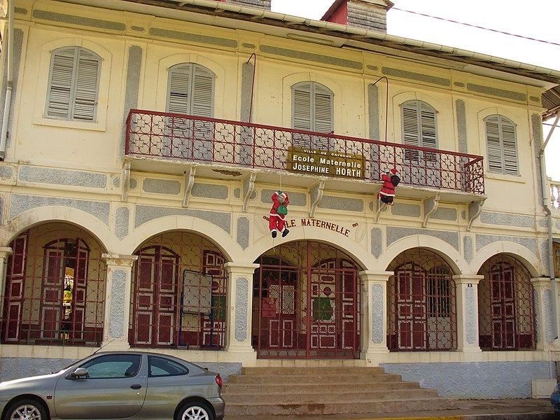 Photo du Monument Historique Ecole Joséphine Horth situé à Cayenne