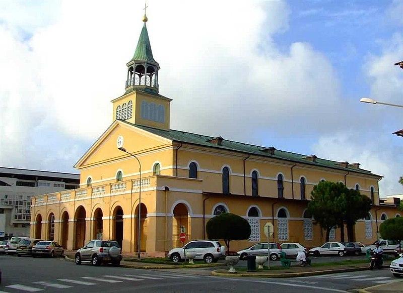 Photo du Monument Historique Cathédrale Saint-Sauveur situé à Cayenne