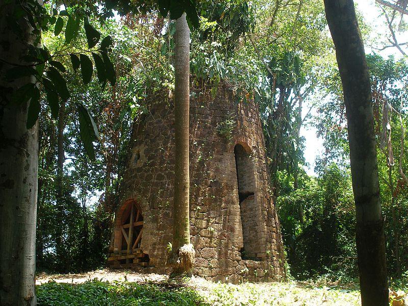 Photo du Monument Historique Moulin à vent situé à Remire-Montjoly