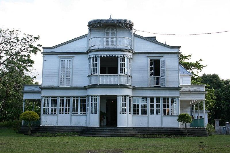 Photo du Monument Historique Maison Martin ou Martin Valliamé, actuellement office du tourisme de Saint-André situé à Saint-André