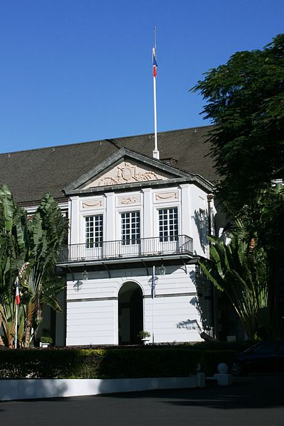 Photo du Monument Historique Hôtel de la Préfecture situé à Saint-Denis
