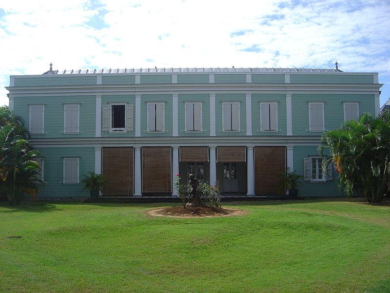 Photo du Monument Historique Villa Deramond situé à Saint-Denis