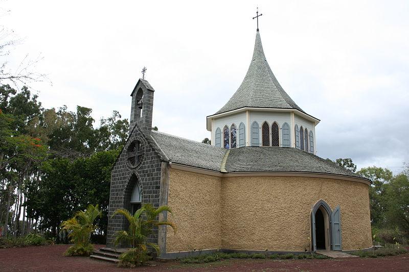 Photo du Monument Historique Chapelle Pointue de Saint-Gilles-les-Hauts situé à Saint-Paul