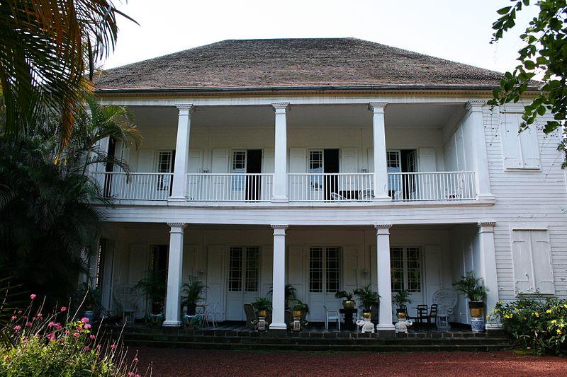 Photo du Monument Historique Maison Bel-Air situé à Le Tampon