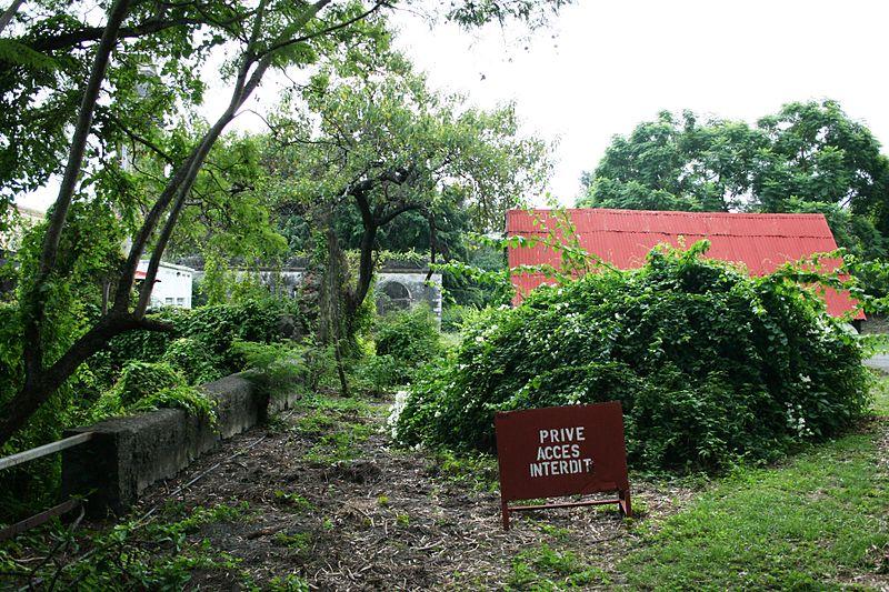 Photo du Monument Historique Villa créole situé à Saint-Pierre