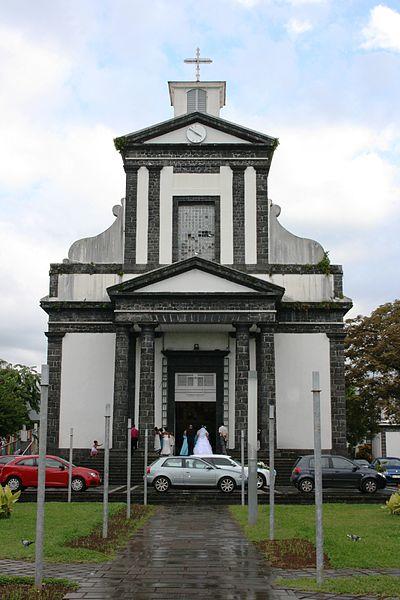 Photo du Monument Historique Eglise paroissiale de Saint-Benoît situé à Saint-Benoît