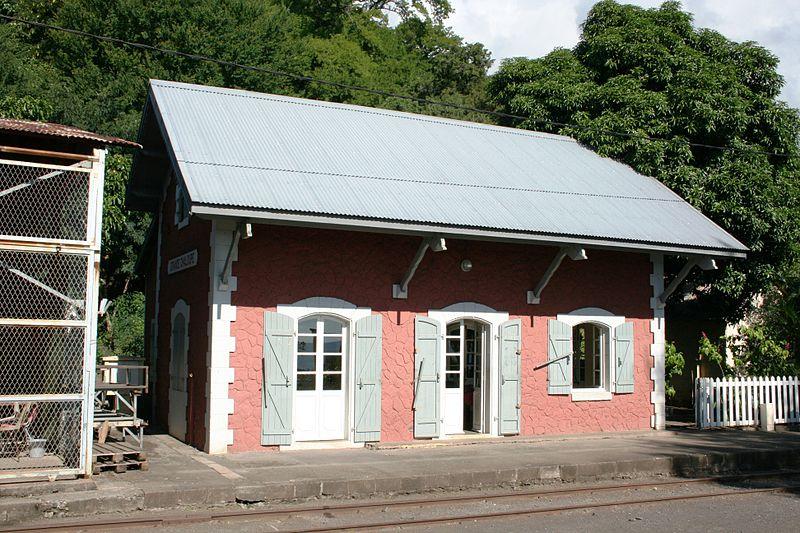 Photo du Monument Historique Gare de La Grande Chaloupe situé à Saint-Denis