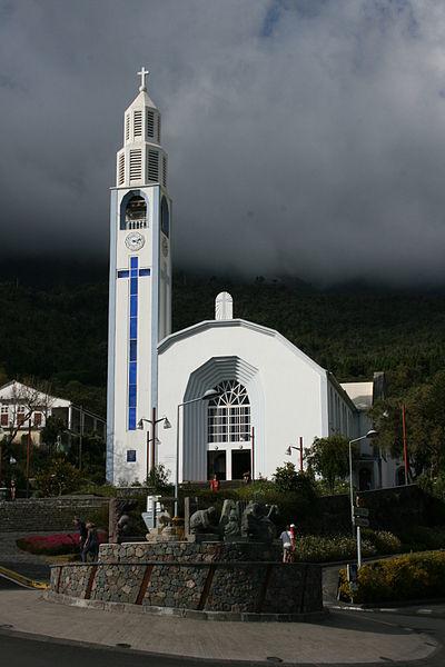 Photo du Monument Historique Eglise paroissiale Notre-Dame-des-Neiges situé à Cilaos