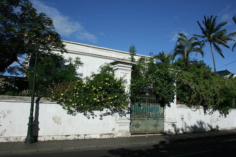 Photo du Monument Historique Maison Kalidas, plus connue sous la dénomination maison de la Banque de la Réunion situé à Saint-Denis